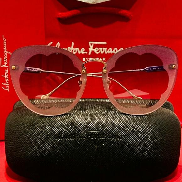 Salvatore Ferragamo Accessories Salvatore Ferragamo Fiore Sunglasses Style 78 Poshmark